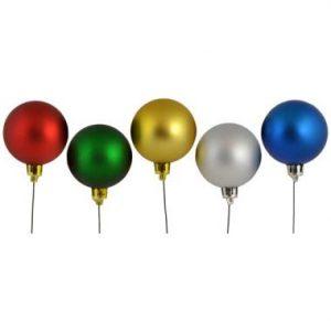 50mm Matte Plastic Ball Asst