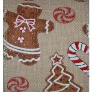 Wired Gingerbread Candy Cane #40