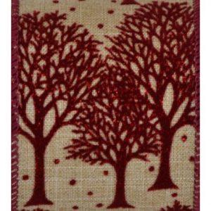 Wired Linden Burgundy Tree #40