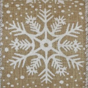 Wired Natural Snowflake #40