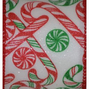 Wired Peppermint Candy Cane #40