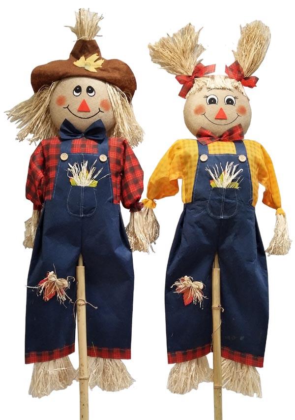 60″ Scarecrow Friends