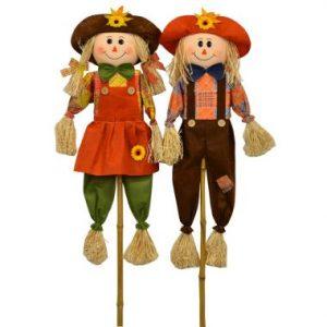 48″ Scarecrow Couple