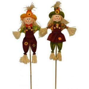 36″ Scarecrow Couple