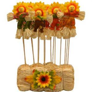 13″ Mini Sunflower Picks In Bale