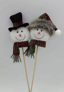 11″ Snowman Pick