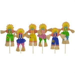 18″ Summer Sunflower Pick