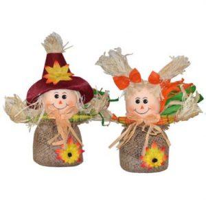 8″ Mini Scarecrows