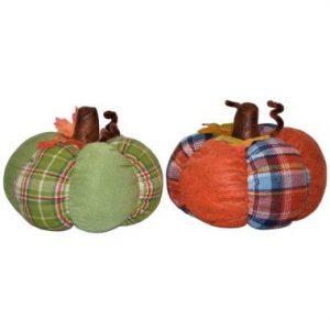 9″ Plush Pumpkins