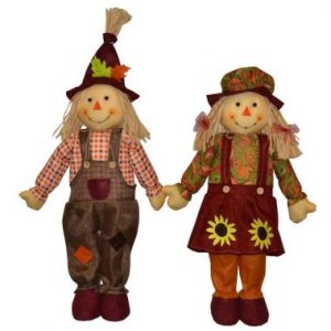 28″ Standing Scarecrows