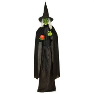 76″ Standing Witch w/Apple LED & Sound