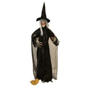 74″ Standing Witch w/ LED & Sound