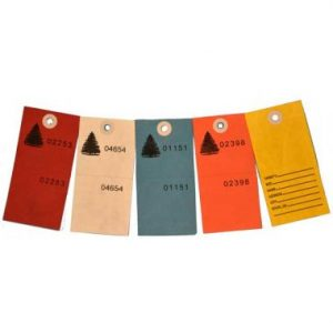 5 Color Secure Tags / 500 CS