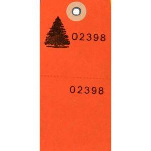 Secure Tag – Orange / 100 CS