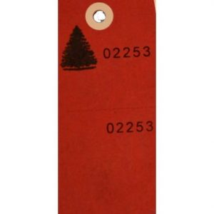 Secure Tag – Red / 100 CS
