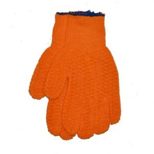 Large Cotton Vinyl Dot Gloves