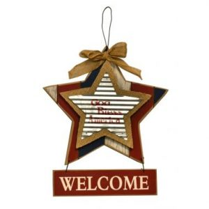 11″ Welcome Wall Hanging