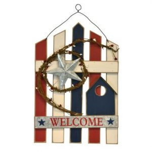 16″ Welcome Wall Hanging