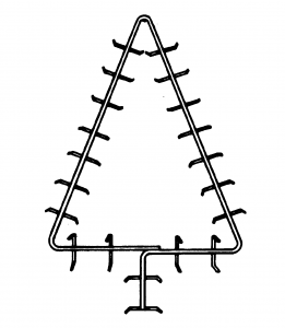 27″ Christmas Tree Frame