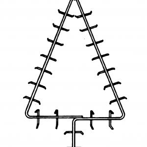 27″ Christmas Tree Frame