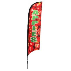"Shark Fin ""Apples"" Flag Only"