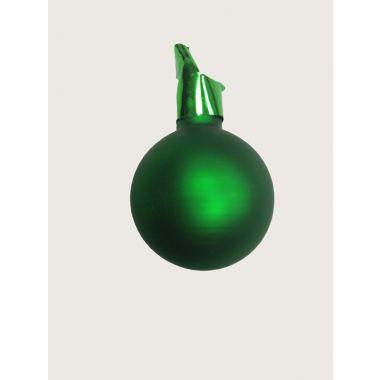 35mm Matte Glass Ball / Green