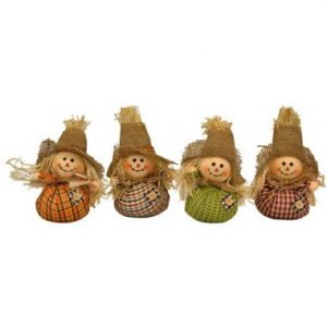 8″ Mini Scarecrows