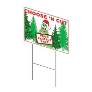 Choose N' Cut Double Sided Sign