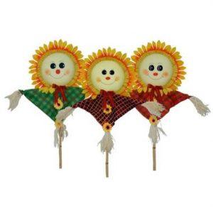 48″ Sunflower Trio