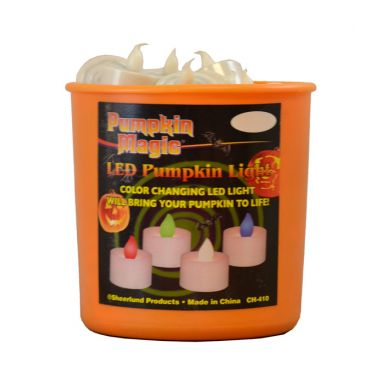 Pumpkin Magic LED Color Changing Pumpkin Lights In a Bucket