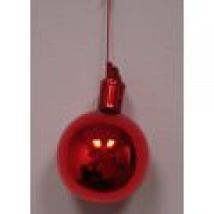 50mm Glass Ball / Red