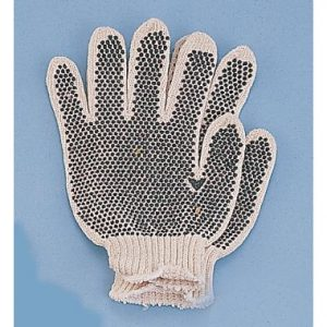 Medium Cotton Vinyl Dot Gloves