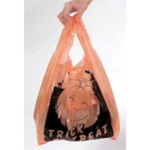 Halloween Retail T-Shirt Bags