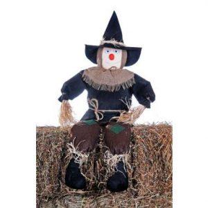 50″ The Sitting Scarecrow