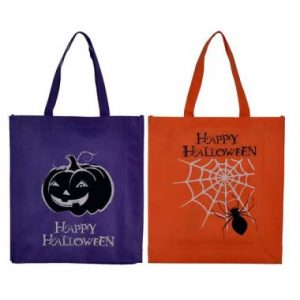 Fall & Halloween Glow-in-the-Dark Tote Bag