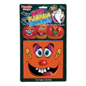 Pumpkin Magic Kids Stickers