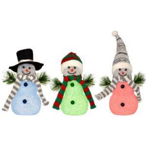 7″ LED Snowman
