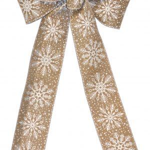 7 Loop #40 Wired Natural Snowflake, 16″ Tails