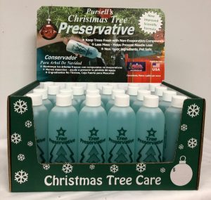 Christmas Tree Preservative