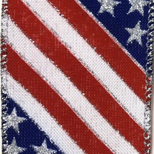 Wired Stars and Stripes Ribbon