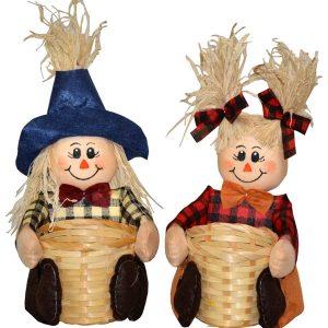 9″ Scarecrow Basket