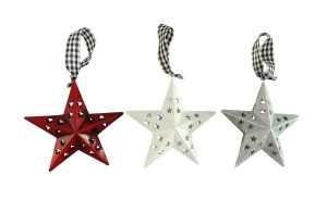 6″ Metal Star Ornament