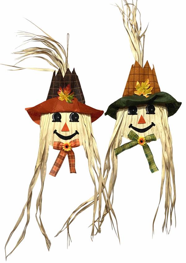 18″ Scarecrow Head Hanger