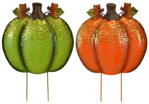 18″ Metal Pumpkin Stake