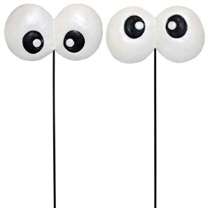 14″ Metal Spooky Eyes Pick