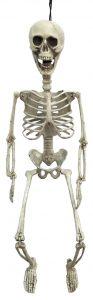 28″ Hanging Poseable Skeleton