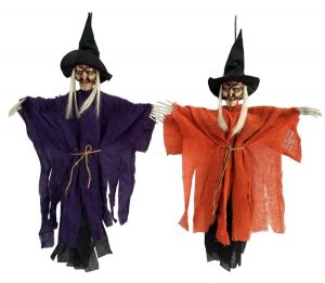 24″ Hanging Witch