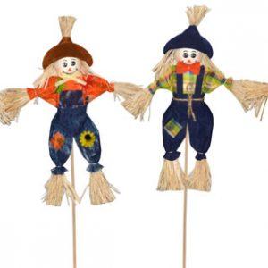 14″ Scarecrow Pick