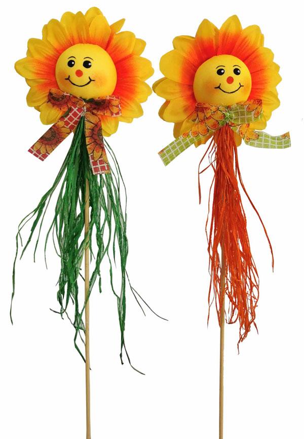 16″ Sunflower Head Pick