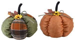 8″ Plush Pumpkins